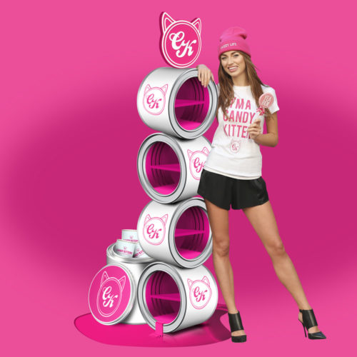 candy kittens point of sale design