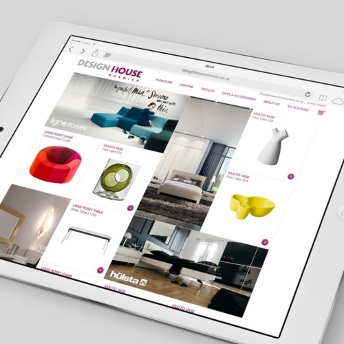 design house norwich website design