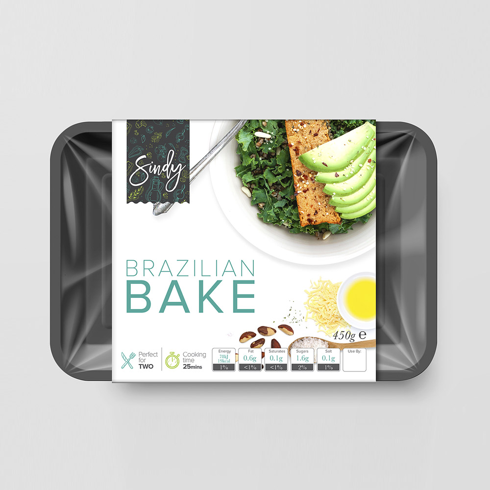 Vegetarian packaging design