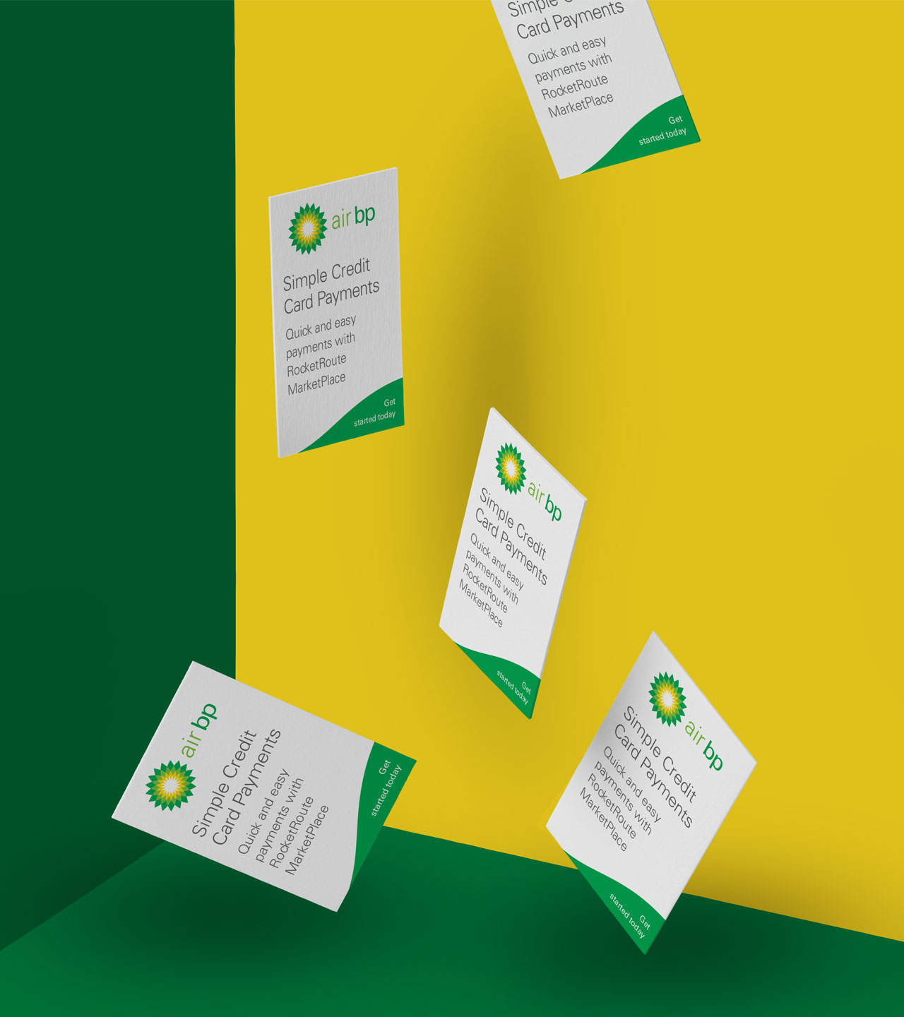 Air BP Stationery Design Print Business Cards
