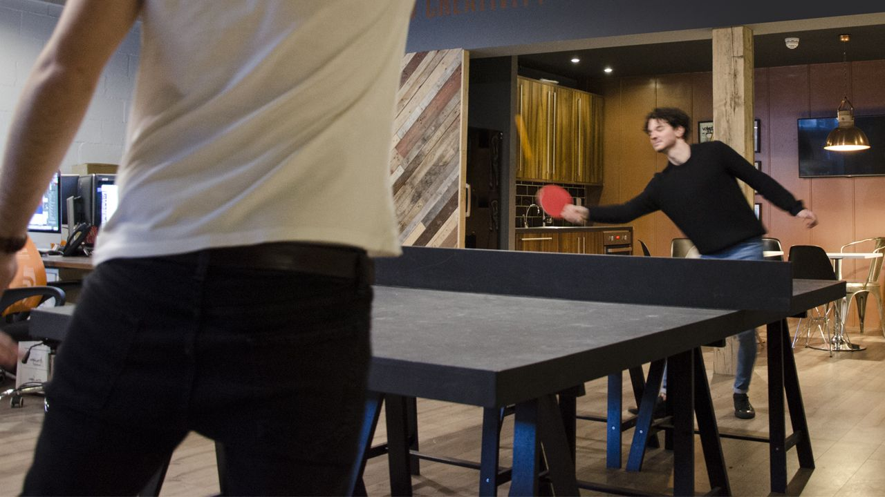 ping pong at cubiq design