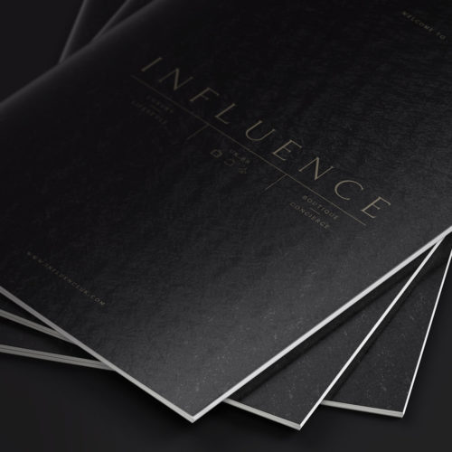 Influence UK Brochure Design