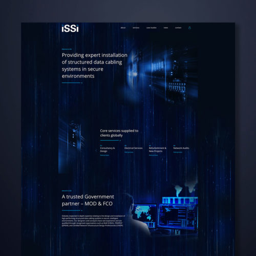 ISSI Website Design