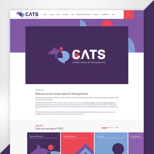 CATS Website Design